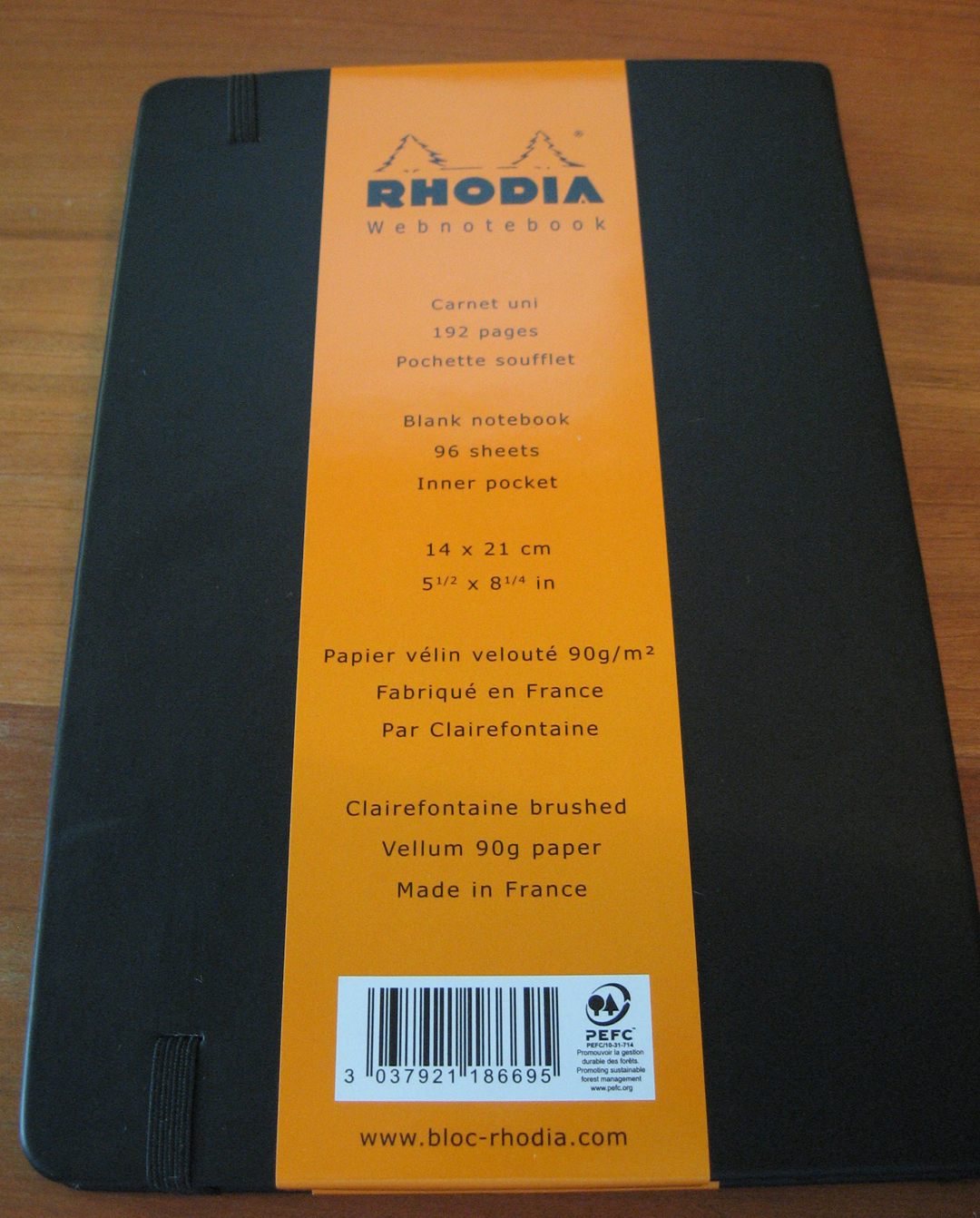 Perhaps More Than A Review Rhodia Webnotebook Ver 3 0 Peaceable