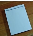 DIY small notepad