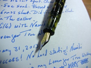 Levenger True Writer F Nib