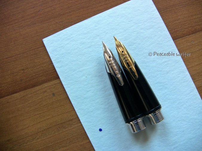 Namiki Sterling Nibs, Fine and Broad