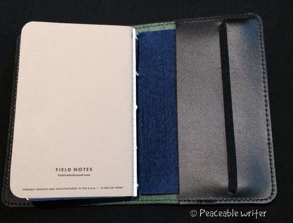 Field notes in addition to DIY notebooks