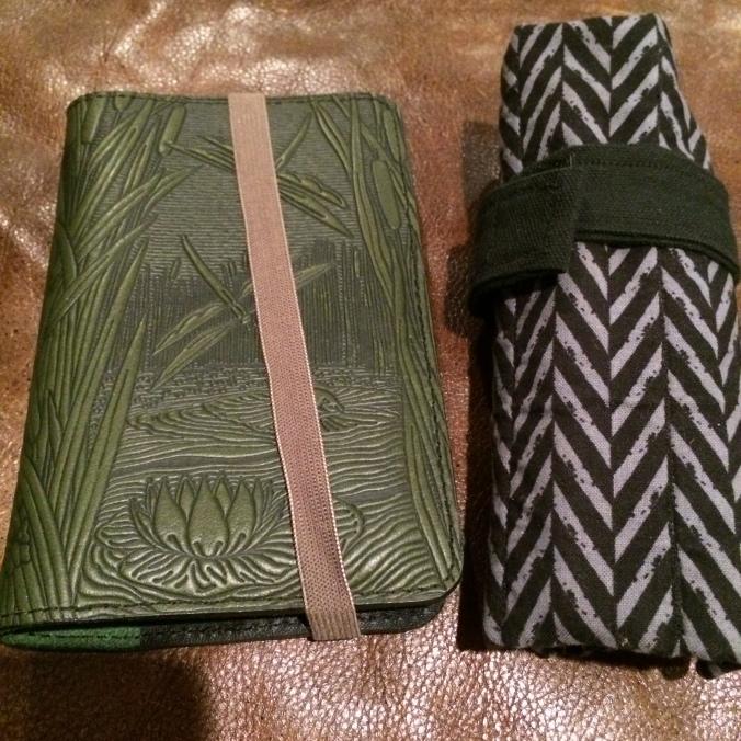 DIY strap around notebook.