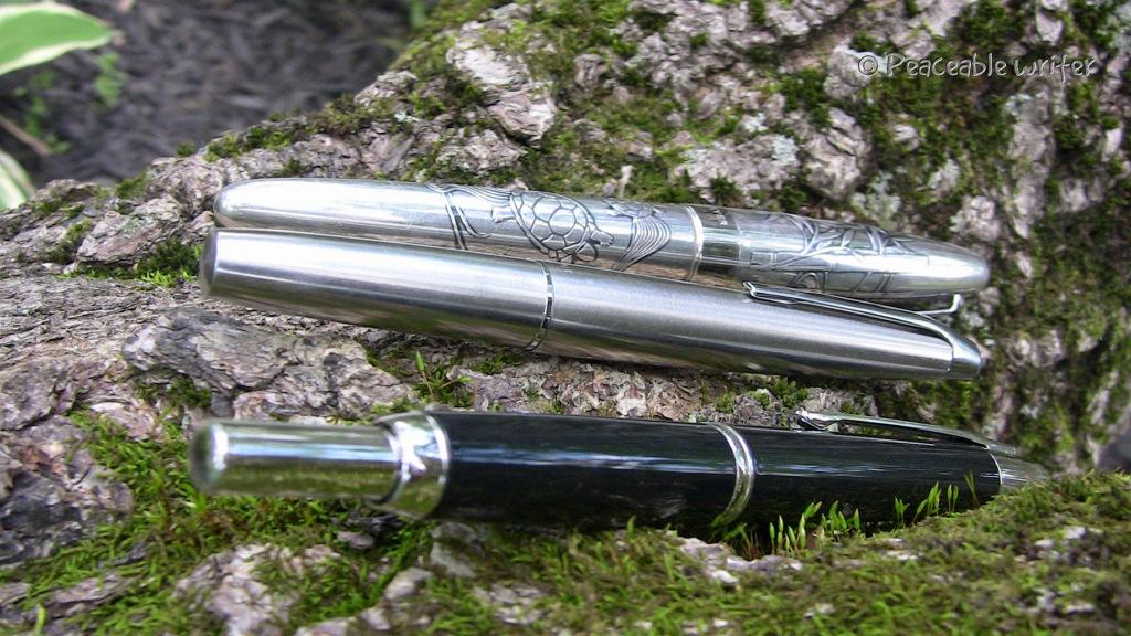 3 Pilot fountain pens