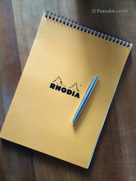 Rhodia No 18 top wirebound notepad / MYU 701