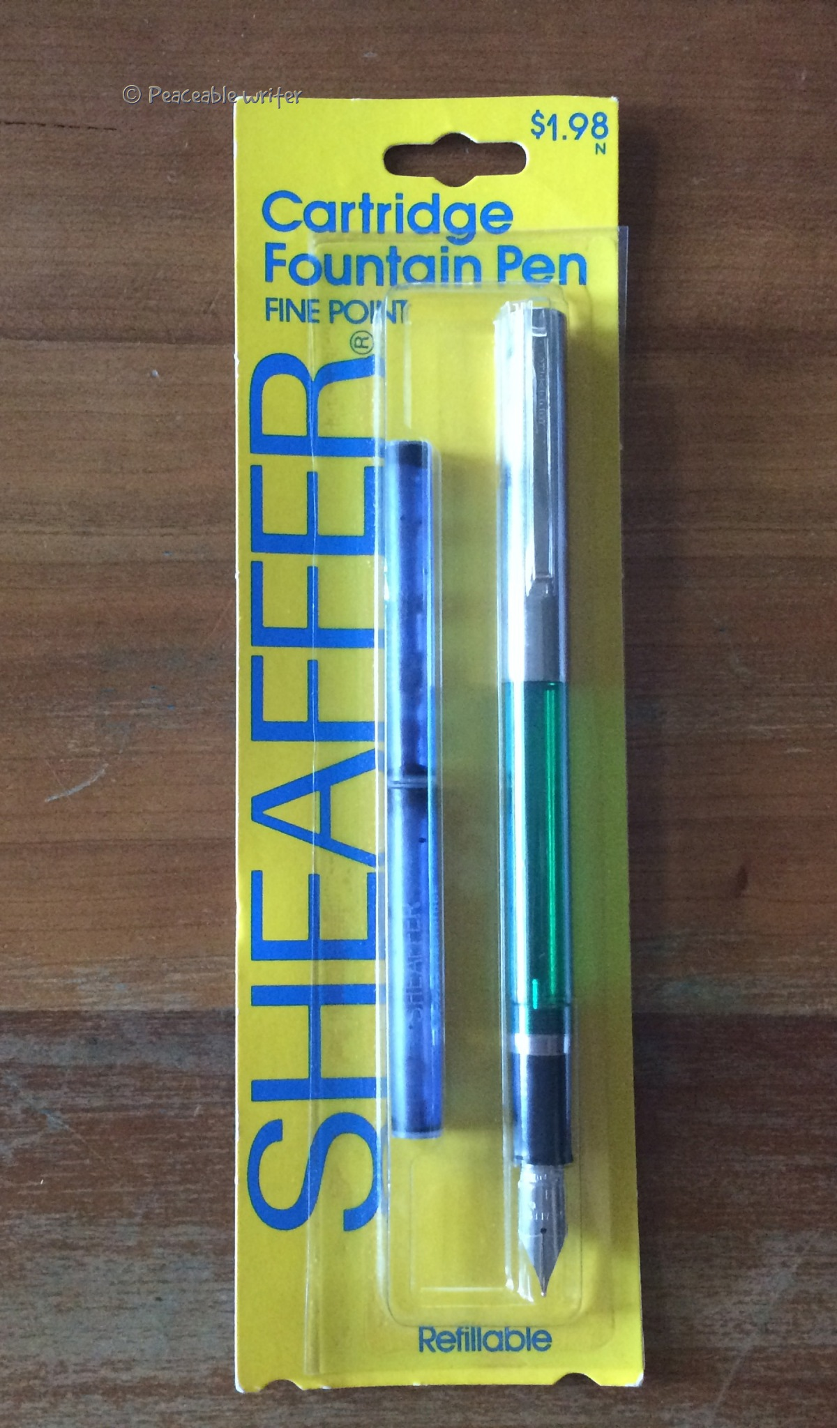 Sheaffer Cartridge pen circa 1978-1988