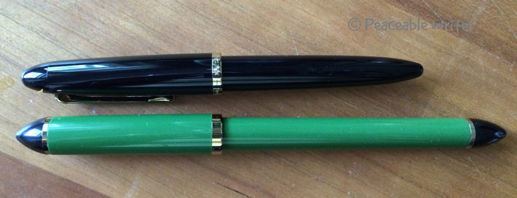 2 Sailor fude pens