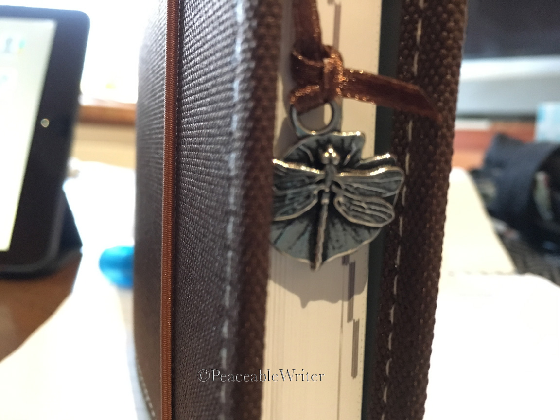 Oberon dragonfly bookmark