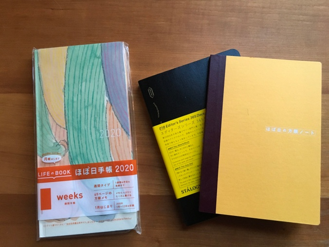 Weeks, Stalogy, Plain Hobonichi Notebook