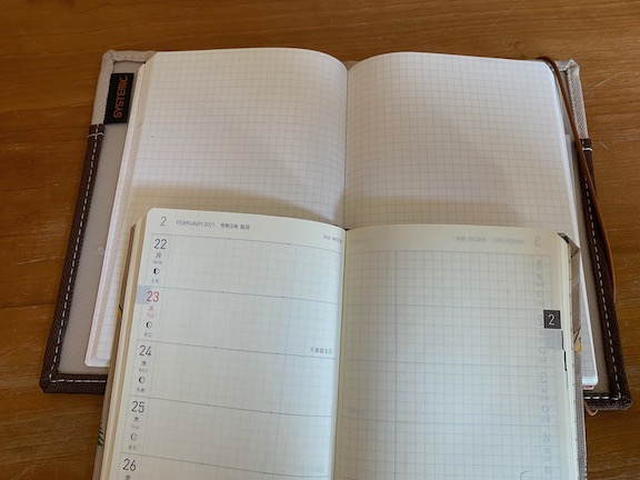 Hobonichi Weeks & Plain Notebook